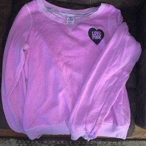 PINK crew sweatshirt